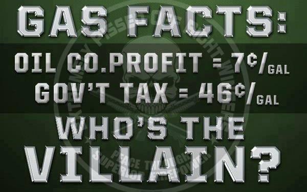 Liberal, disingenuous politicians trash the evil oil companies....