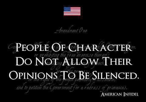Character. We need it....