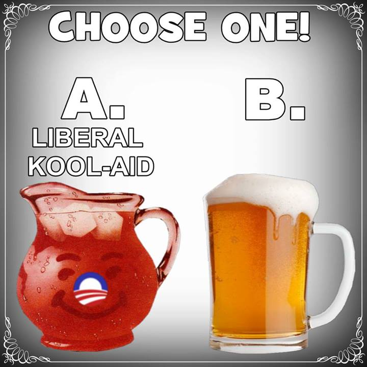 Choose your beverage....