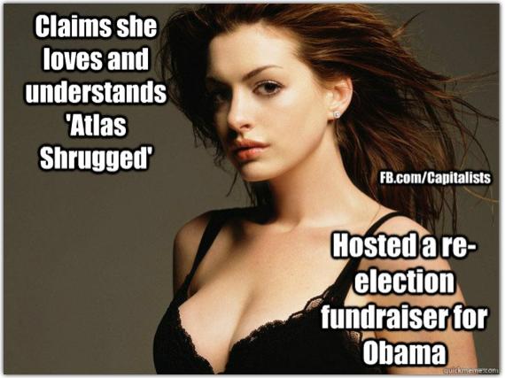 Shitfer Brains, I mean Anne Hathaway....