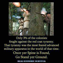 Resisting tyranny....