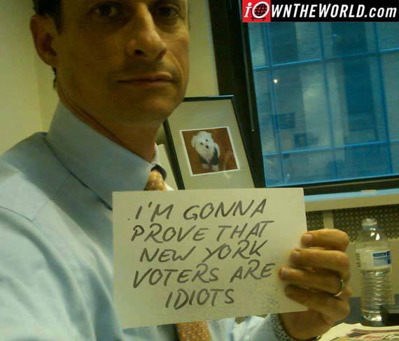 New Yorkers just can't get enough weiner!....