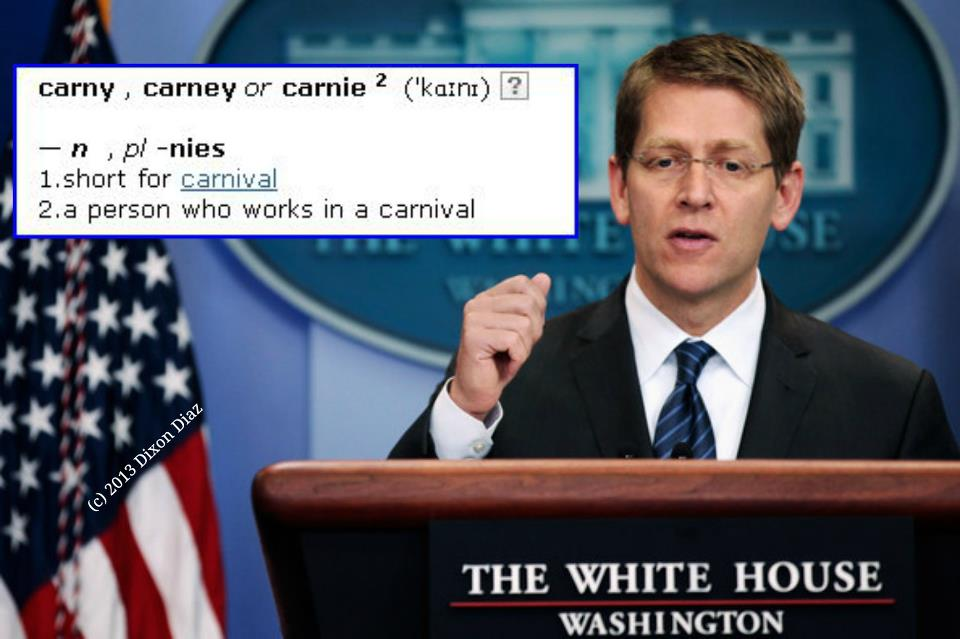 Definition of a carney....