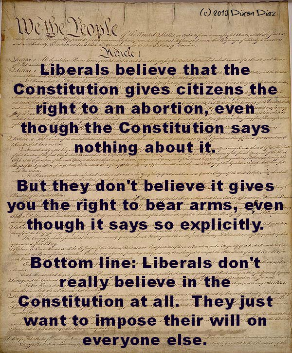 I miss the days when our Constitution had meaning....