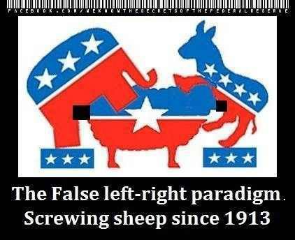 Politicians love sheep....