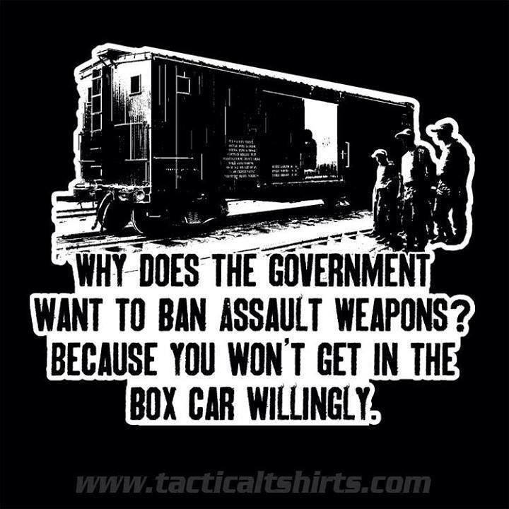 There is a reason the left is assaulting the Second Amendment....