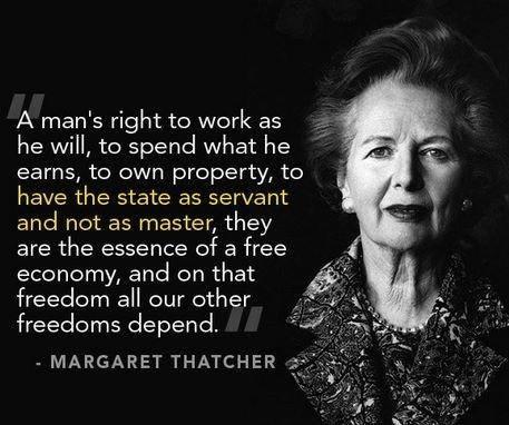 I miss the Iron Lady....