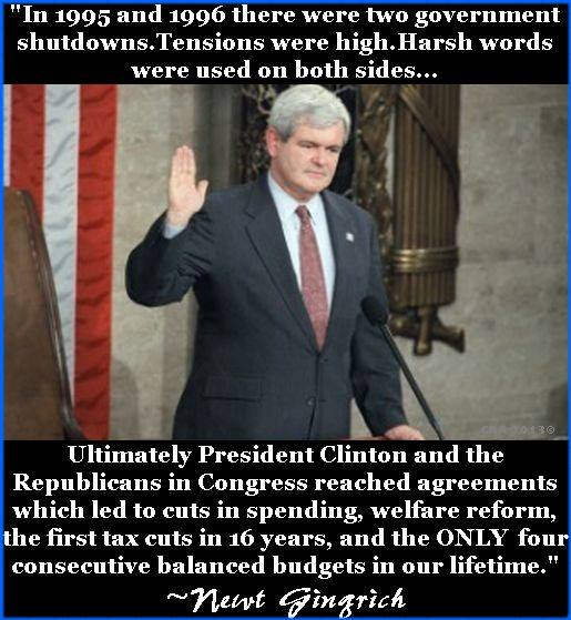 Newt got it done! He is my choice for President in 2016....