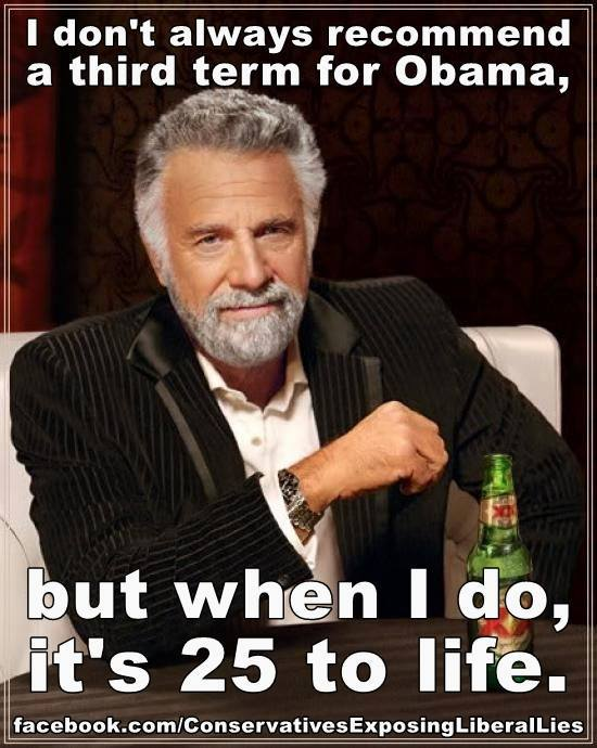 Should Obama get a third term? Just asking....