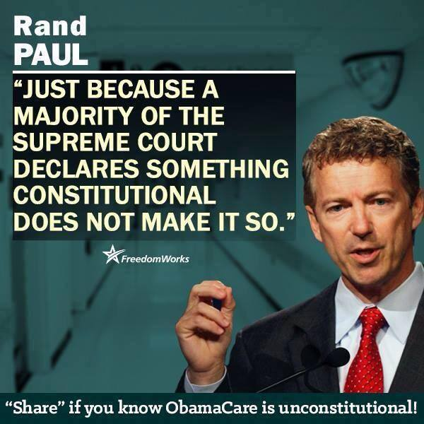 Correct. The Supreme Court is just as susceptible to corruption as is Congress....