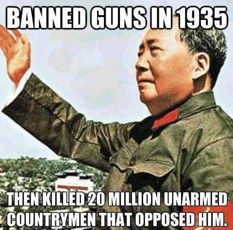Still think the Second Amendment is all about hunting?....