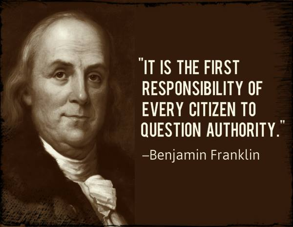 Ha! And all this time I thought the first responsibility was to see how many gimmes a citizen can get from the government....