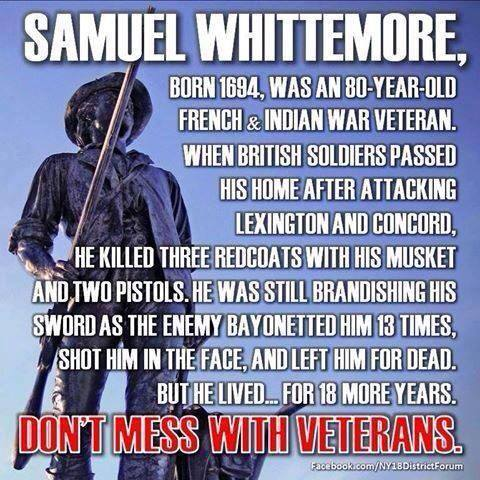 Don't mess with vets....