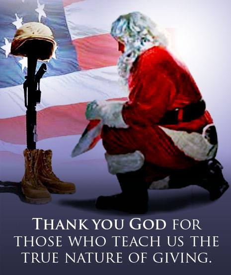 From our brothers and sisters down under in the Australian Tea Party. As a former American soldier, Thank You and Merry Christmas, and a special Thank You to our brothers and sisters in the Australian Defence Force....