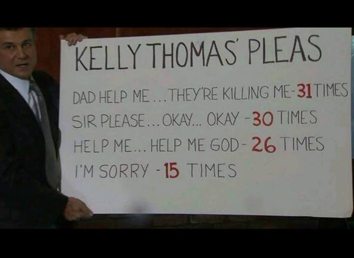 Remember Kelly Thomas. This could easily happen to you or someone you love....