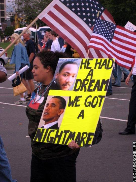 Not so dreamy now. Obama has done more to damage the stature of blacks than anyone in history....