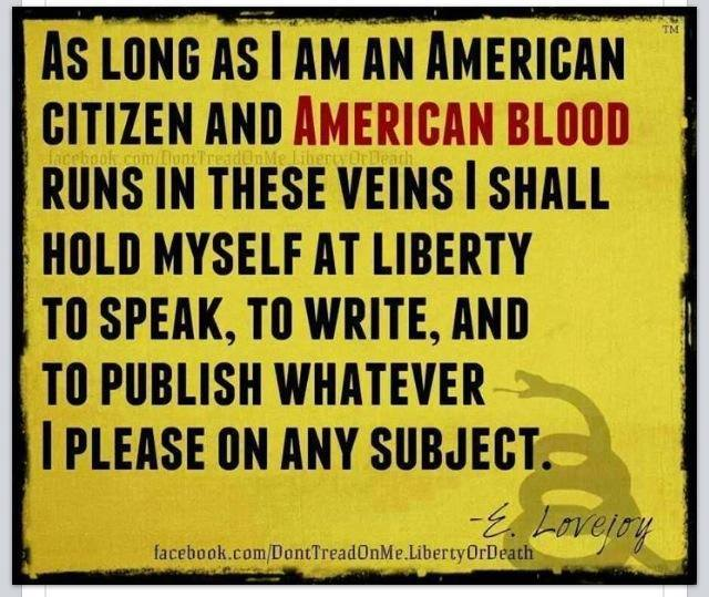 American Blogger's Creed....