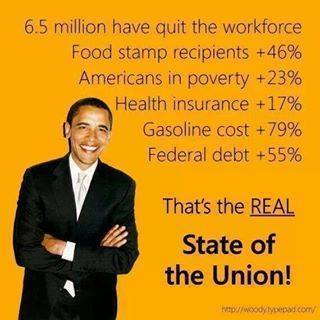 Here you go, Barrack. Here is your state of the union....