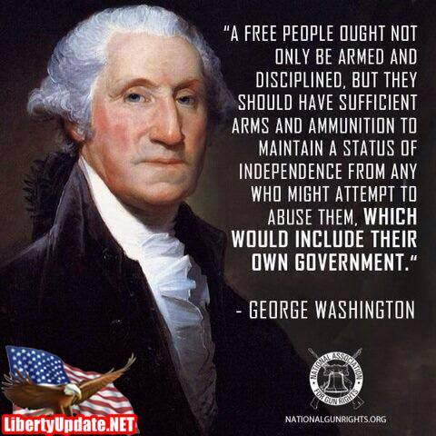 George Wisdom.... I mean Washington. His statement is timeless, as true today as when GW said it....