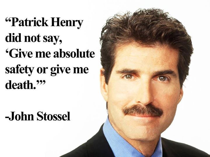 I really like John Stossel. Even though he considers himself a Libertarian, he has a strong Constitutionalist lean that I appreciate....