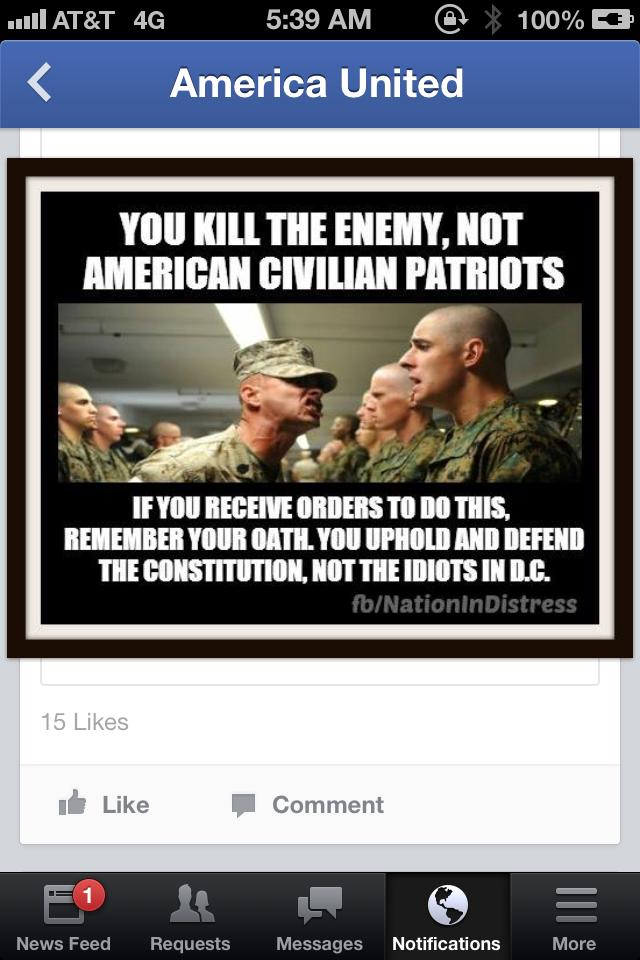 Read and heed, soldiers, read and heed!....