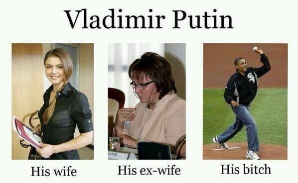 The women in Putin's life....
