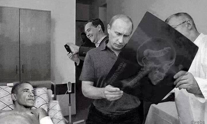 Putin diagnoses America's decline....