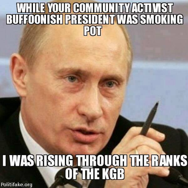 Putin is proving Obama's impotence....