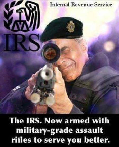 IRS - serving the shit out of you....