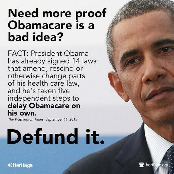 Usurping the authority of Congress, King Hussein has altered Obamacare 14 times. If and when it is fully implemented, it will be a horrific nightmare....